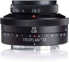 NIB - MEYER-OPTIK GORLITZ TRIOPLAN 35 + 35mm f2.8 NIKON LENS