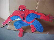 ~SPIDERMAN HAND DRAWN WALL ART DECORATION~EXCELLENT~LAMINATED~SPIDER-MAN~DISPLAY