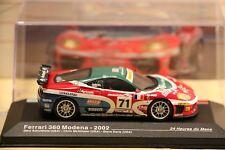 1/43 press no Ixo Ferrari 360 Modena Le Mans 2002 #71