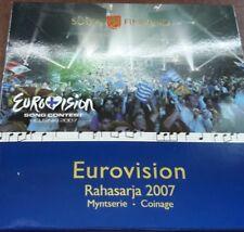 manueduc   FINLANDIA 2007 CARTERA OFICIAL EUROVISION con 2 EUROS Tratado De R0MA