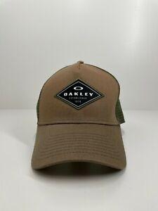 Oakley men's cap hat khaki one size fits most adjustable