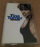 Tina Turner : Simply The Best : Vintage Tape Cassette Album from 1991..