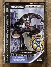 🔥Mega Marvel Magnetics Figure Venom Spider-Man 3 2007 Mega Magnetic Power Rare!