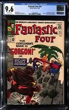 Fantastic Four #44 - CGC 9.6 - 1st app of Gorgon - Medusa & Dragon Man app