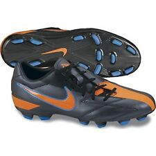 Nike Men's T90 Shoot IV Firm Ground Soccer Cleats,Black,US 6.5       (D44-NS)
