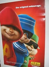 ALVIN & THE CHIPMUNKS MOVIE POSTER ORIGINAL 27 X 40 NM