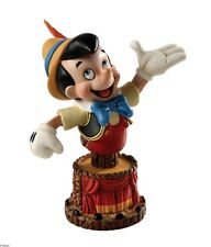Disney Grand Jesters 4038502 Pinocchio Bust Statue Figurine in Gift Box