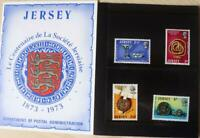 """Jersey Stamps """"Centenary of the Societe Jersiaise"""" Presentation Pack 1973"""