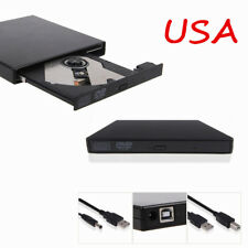 External USB 2.0 Region Free DVD Burner Slim CD-RW ROM Combo Player Drive IN UPS
