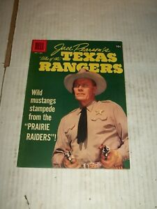Dell JACE PEARSON'S TALES OF THE TEXAS RANGERS #17 Sept./Nov. 1957 HIGH GRADE