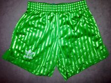 Adidas Vintage Short Brazil Vert Taille XS-S-M Neuf Original Retro Soccer Asse