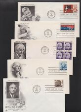 US FDC 1966 Year Set 23 First Day Covers All Cacheted All Unaddressed |