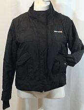 Element Wood & Thread Womens L Alchemy Street Chic Jacket Coat $89 Black Cuffs