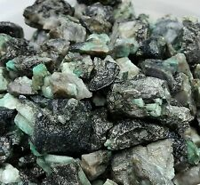 1150 CTS ROUGH EMERALD GEMS NATURAL UNSEARCHED MINERAL 1/2 LB LOT, Lapidary cabb