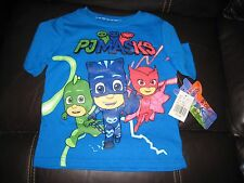 PJMASKS BOYS 2T BLUE TEE SHIRT NEW WITH FREE SHIPPING@@@