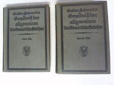 Schmoller, Gustav: Grundriß der allgemeinen Volkswirtschaftslehre. Erster ...
