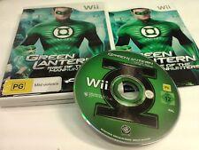 Green Lantern Nintendo Wii
