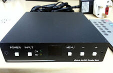 Atlona Composite Video RCA Phono S-Video To DVI Scaler Box AT-AVS-DVI Amiga CD32