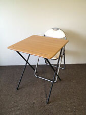 Folding exam class room Snack Lunch camping Laptop Coffee bistro Table & chair
