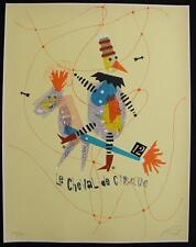 WOLFGANG ROTH Listed CIRCUS SERIES * LE CHEVAL DE CIRQUE Ltd Ed #218/250 1973