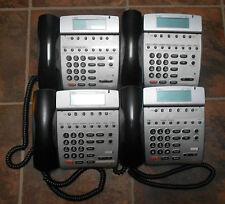 Lot of 4 NEC Dterm 80 Telephones DTH-8D-2 (BK) TEL 780571 Black Tested Warranty
