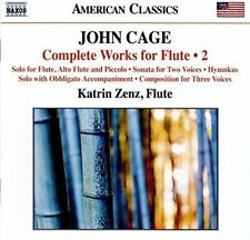 JOHN CAGE: COMPLETE WORKS FOR FLUTE, VOL. 2 NEW CD