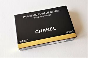 CHANEL Papier Matifiant Oil Control Tissues with Mirror Compact (150 sheets)