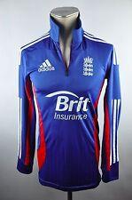 adidas Cricket England Trikot Gr. 2L M L Shirt Brit National Jersey RU9