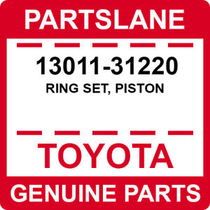 13011-31220 Toyota OEM Genuine RING SET, PISTON
