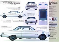 1964 Ford Falcon Sprint Road Race Car in Europe 289 ci IMP Info/Specs/photo 11x8