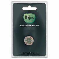 The Beatles Sgt Pepper Drum Mini Pin Badge Official Merchandise - NEU