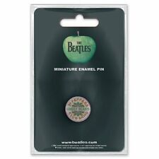 The Beatles Sgt Pepper Drum Mini Pin Badge Official Merchandise - NEU