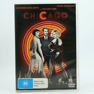 Chicago Renée Zellweger Catherine Zeta-Jones Richard Gere DVD Free Tracked Post