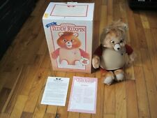Teddy Ruxpin Doll In Box Instructions 1990 Vintage Worlds Of Wonder WOW Alchemy