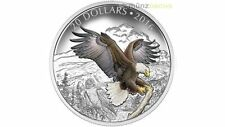 20 $ Dollar Baronial Bald Eagle Weisskopfseeadler Kanada 1 oz Silber PP 2016