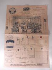 Prospero Gandus, Milano. Prima fabbrica meccanica etichette, sacchetti ed affini