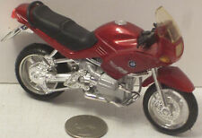 "Maisto BMW JRS Rich Red  Motorcycle  NICE 5"" (See Photo)"