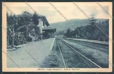 Novara Meina Stazione cartolina EE4689