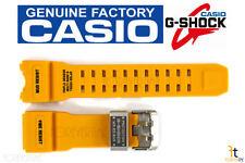CASIO G-SHOCK Mudmaster GWG-1000-1A9 Original Yellow Rubber Watch Band Strap