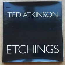 """Ted Atkinson FRBS RE (1929-2016) """"Ted Atkinson Etchings"""" hardback book 1994"""