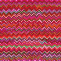 Zig Zag - Warm Brandon Mably for the Kaffe Fassett Collective BTY 100% Cotton