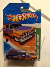 Hot Wheels 2011 Regular Treasure Hunt 15/15 Blue '59 Chevy Delivery