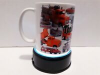TONKA Collector 11oz Mug Vintage Truck Collage Custom Coffee Cup 50's XMAS GIFT