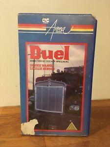 Duel Small Box Pre Cert VHS Steven Spielberg CIC Video Ex Rental