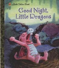 GOOD NIGHT, LITTLE DINOSAURS - LITTLE GOLDEN BOOK -CLASSIC BABY TODDLER BOOK HB