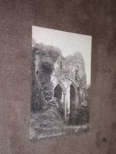 Early Herefordshire postcard - Goodrich Castle