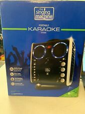 The Singing Machine SML-383 Karaoke Set with Mic, Lights, and Sound Effects NIB