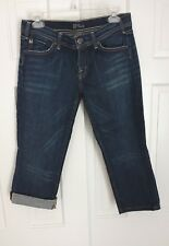 CITIZENS OF HUMANITY 28 x 21   Capri Crop Jeans  style #025-005, cut#913