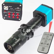14MP 1080P HDMI HD USB Industrial Microscope Video Camera + 180X C-mount Lens