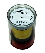 Bird 43 Wattmeter Element 100A 25-60 Mhz 100 Watts (New)